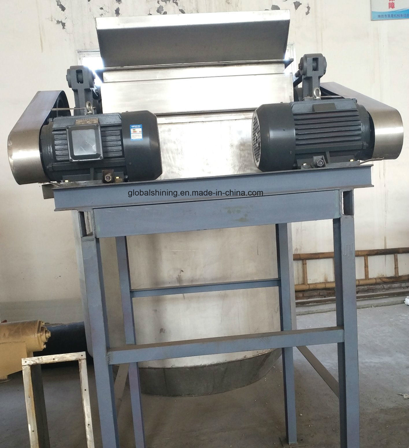 Edible Refined Iodized Industrial Salt Crusher Machine