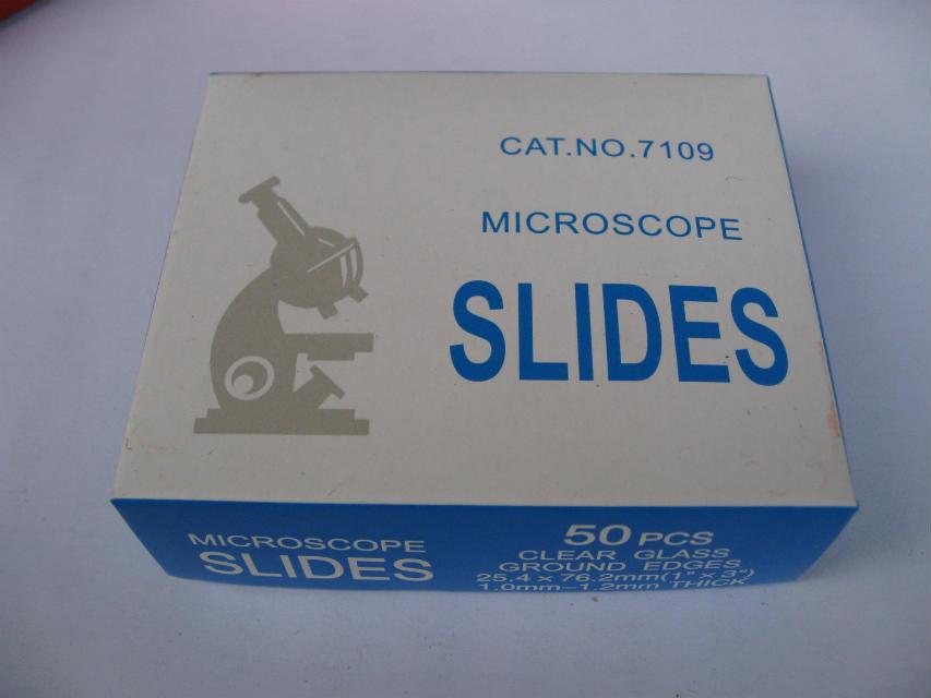 Color Microscope Slides -7109