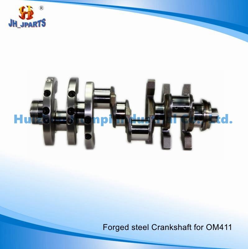 Auto Parts Forged Steel Crankshaft for Mercedes-Benz Om441 Om442/Om443/Om444/Om457/Om460