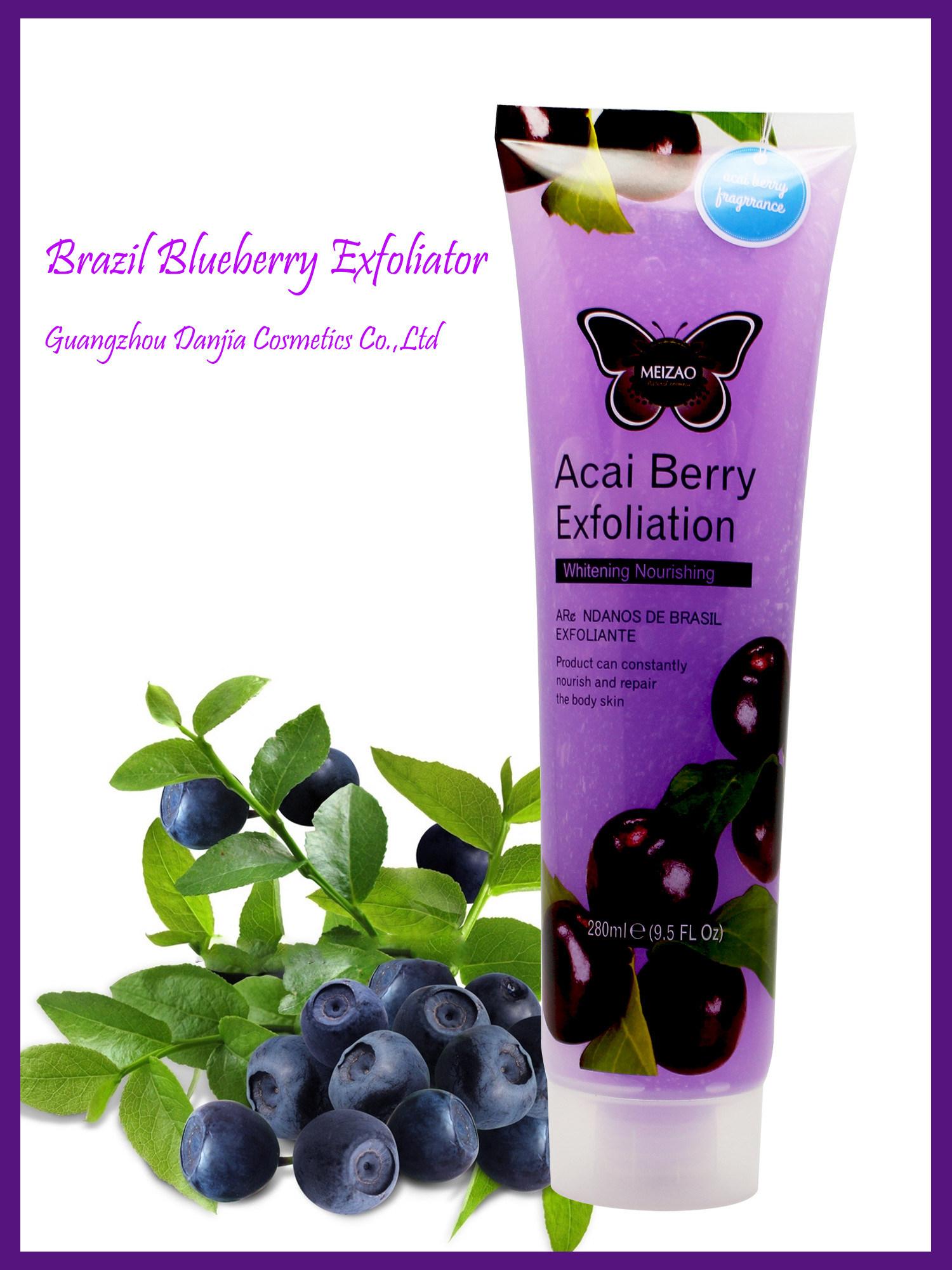 Brazil Blueberry Acai Berry Exfoliator