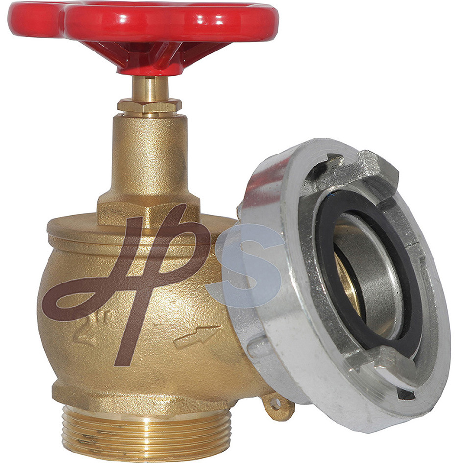 2′′ and 21/2′′ Brass Fire Hose Valve with Aluminum Cap
