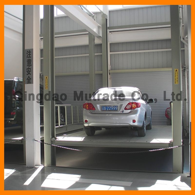 Four Post Parking Lift Heavy Duty Car Elevator (FP-VRC)
