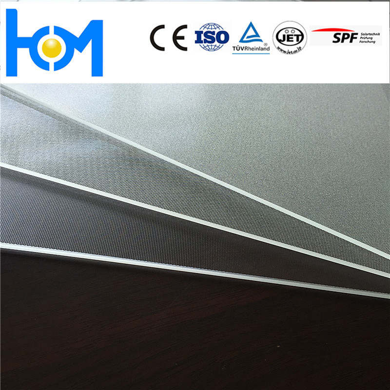 93.6% Transmittance Ultra Clear Solar Toughened Glass Arc Glass Suppplier in China