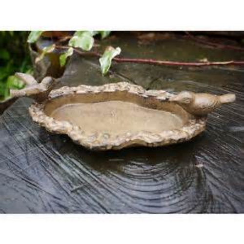 Polyresin Bird Bath/Polyresin Bird Feeder Polyresin for Garden Decoration