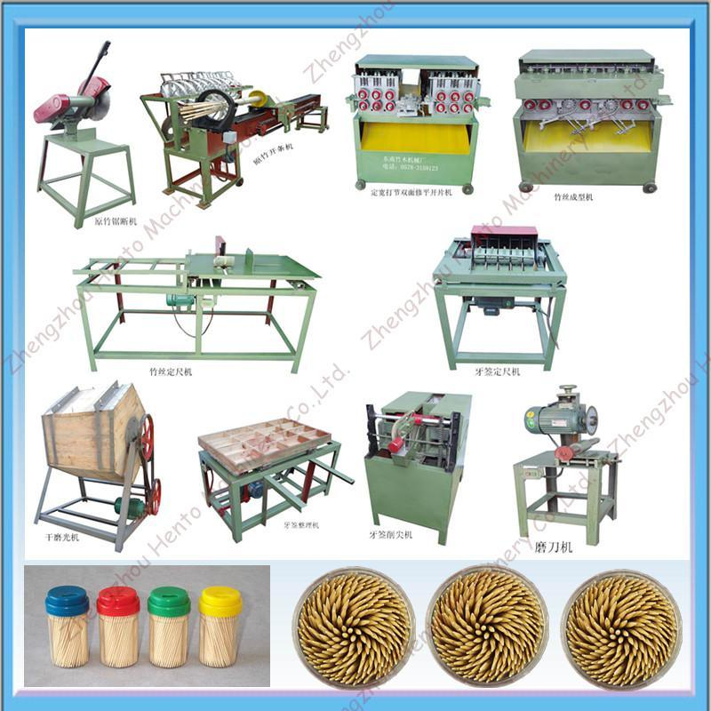 Wooden Toothpick Making Machine For Sale