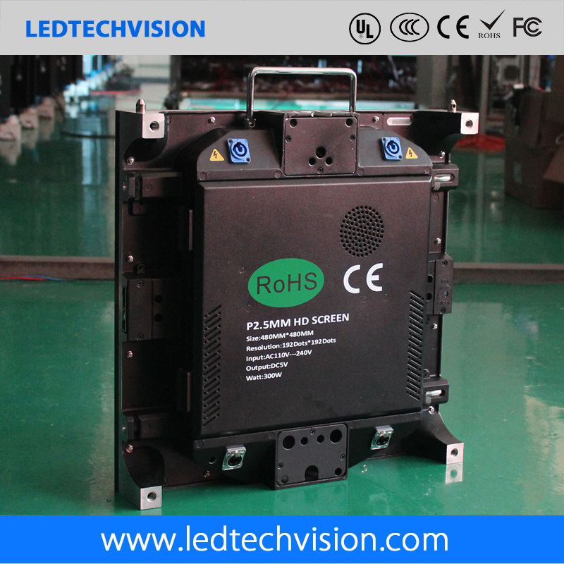 HD LED Display for Fixed/ Rental (P2.5mm die-cast cabinet)