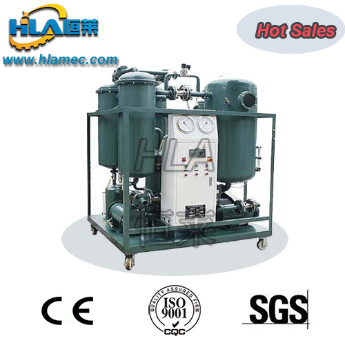 Vacuum Turbine Oil Recycling Purify Machine