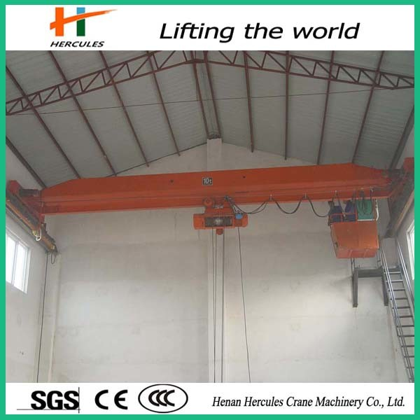 Single Girder Bridge Crane with Capacity up to 16t