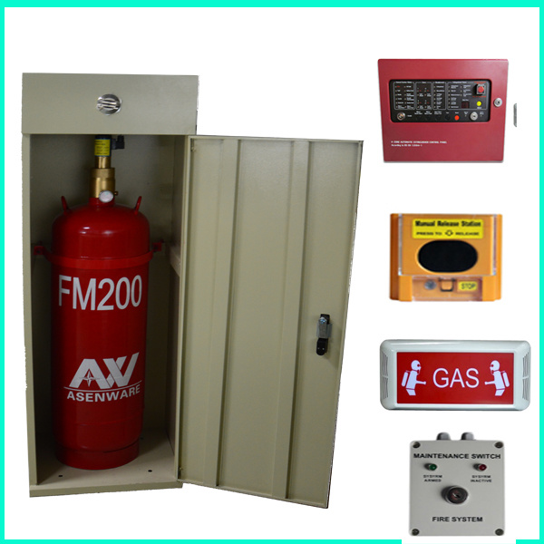 FM200 Fire Alarm and Detection System