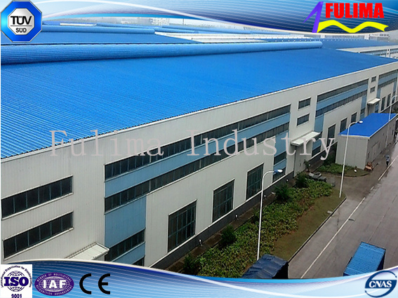Steel Building/Prefabricated Building/Modular House for Workshop (FLM-035)
