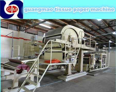 High Speed 1760mm 10 Tons Per Day Tissue Paper Manufacturing Machine / Tissue Paper Machine Price / Cost of Tissue Paper Machine