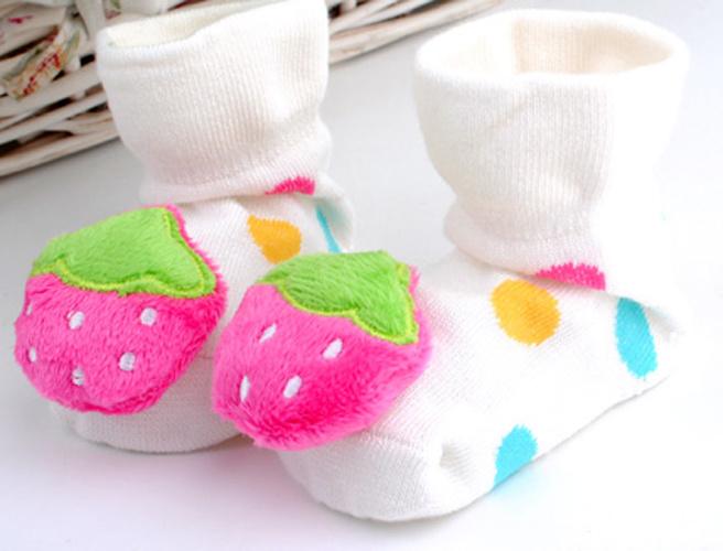 20167 Hot Sale 3D Anti-Slip Fancy Cotton Baby Socks
