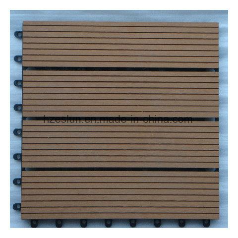 200*200*25mm Factory Hot Sale WPC DIY Decking Tiles