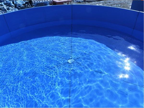 Aquaculture Trough Made by FRP