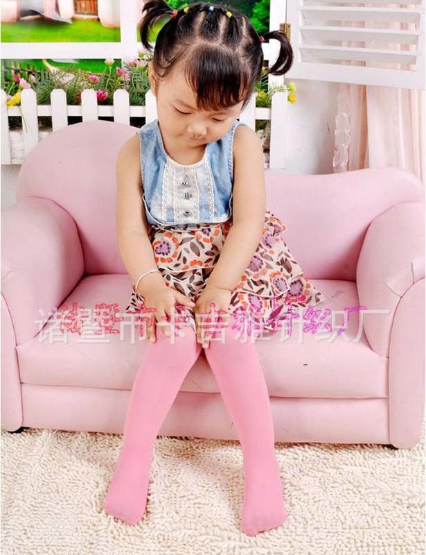 Kids' Velour Pantyhose (K003)