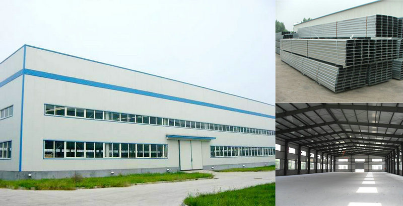 Large Span Steel Fabrication Factory