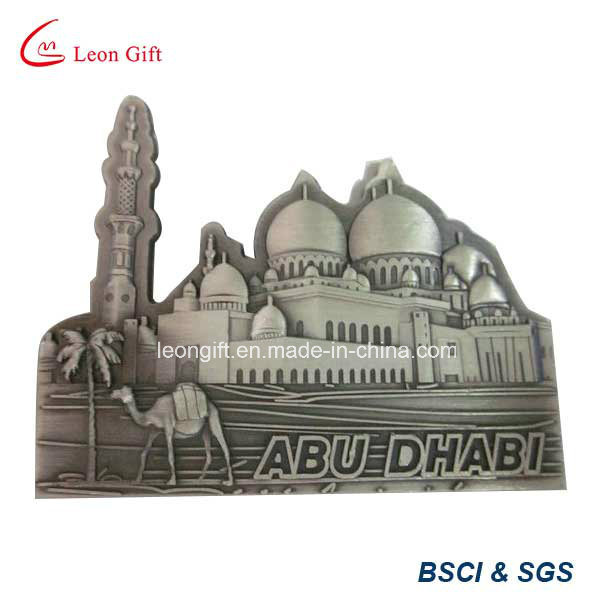 Zinc Alloy Metal Fridge Magnet for Souvenir
