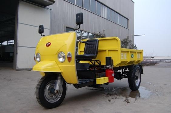 Dump Electric Three Wheeler Tricycle