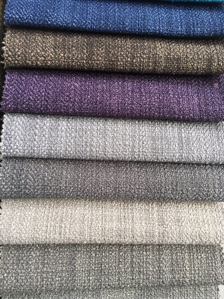 100%Polyester Plain Woven Sofa Fabric/Great Colors for Europe (R043B)