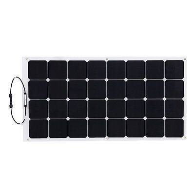 2017 New 100W Flexible Solar Panel for Golf Carts, Cars, Yachts, Boats, Home