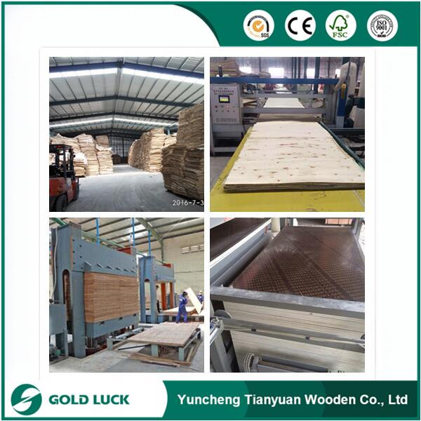 Linyi Commercial Plywood Manufacturer/Pencil Cedar Kuering Bingtangor Birch Okoume Plywood