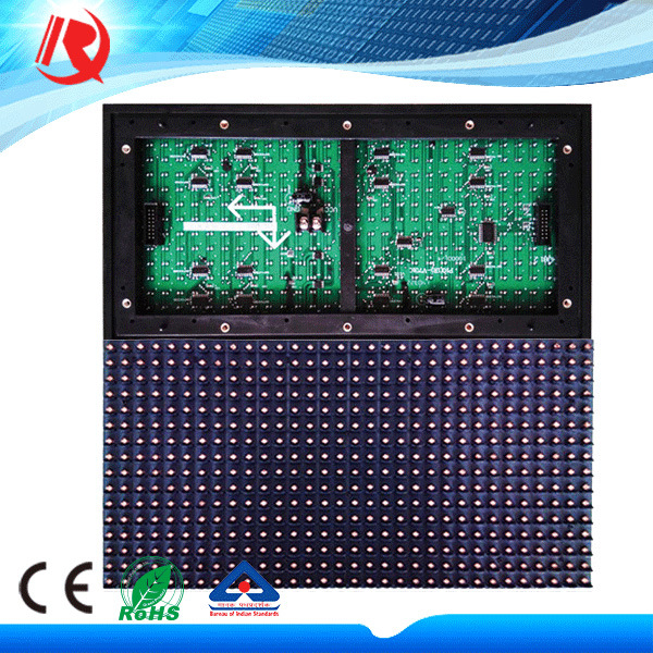 Outdoor 32X16 Cm LED Display Panel 1r/1g/1b/1W/Y Color Pink P10 LED Module