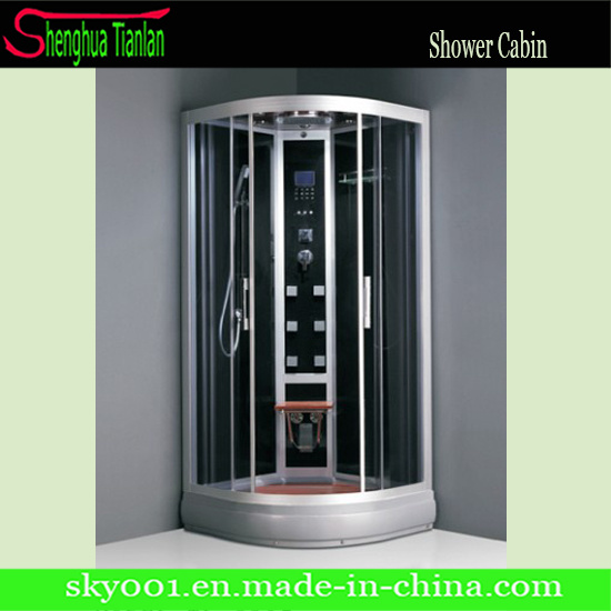 Massage Steam Sauna Glass Simple Shower Bath Room/Shower Cabin (TL-8805)