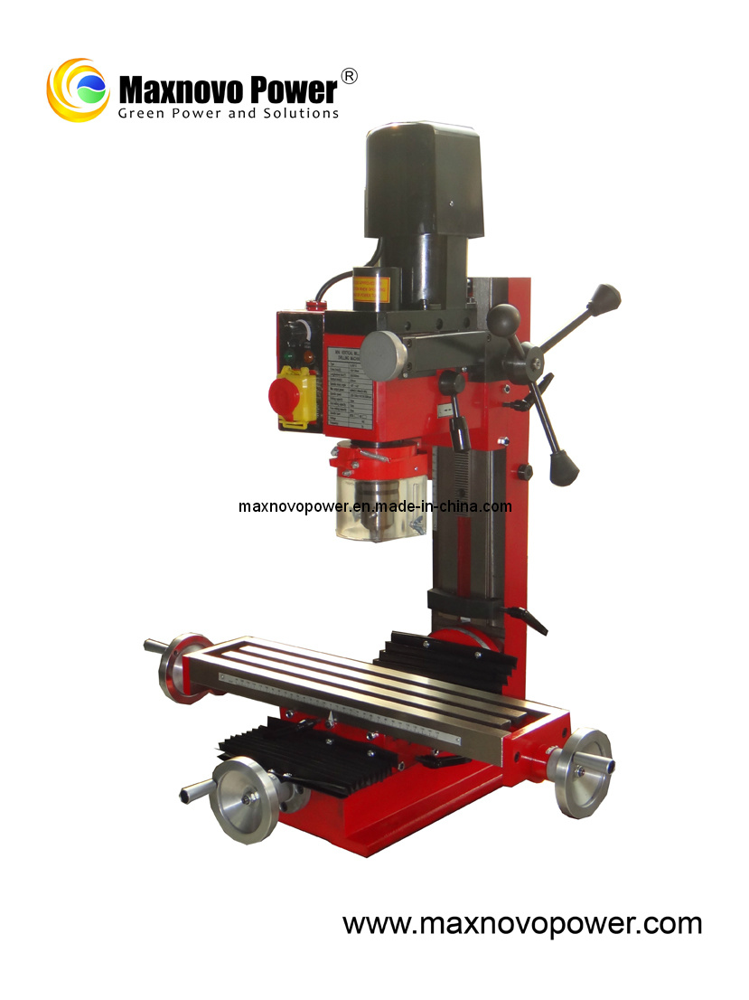 Precision Metal Mini Drilling Milling Lathe Machine (MP-9512MDM)