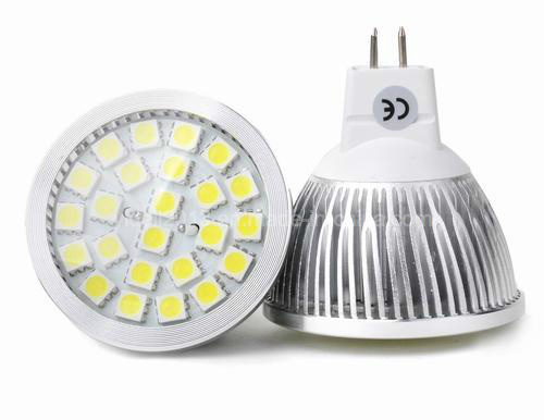 Dimmable Epistar 5050 SMD LED Bulb Down Light MR16