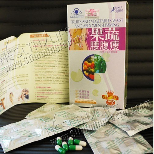 Fruit & Vegetable Slimming Waist and Abdomen Botanical Slimming Capsule Ecd-004