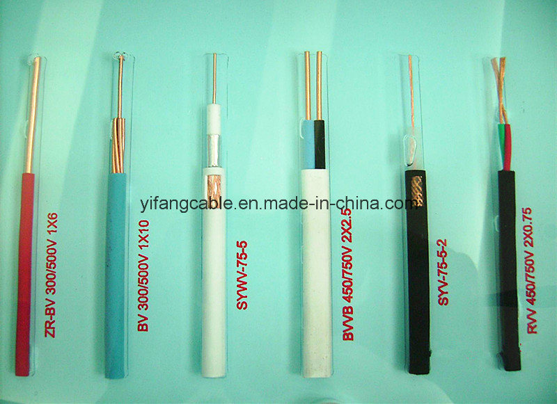 Copper Conductor PVC Electric Wire for Building or Constrction