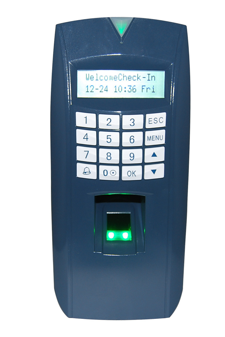 Simple Model for Biometric Fingerprint RFID Card Access Controller with Time Attendance (Fsmart)