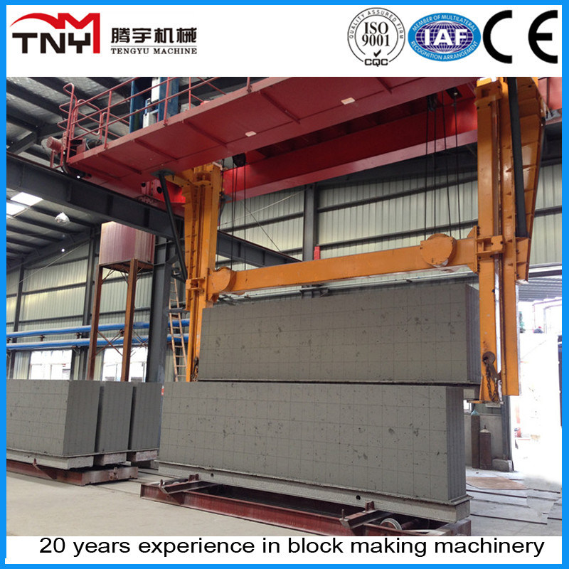 Fly Ash/Sand Acc Block Machine with Reasonable Price
