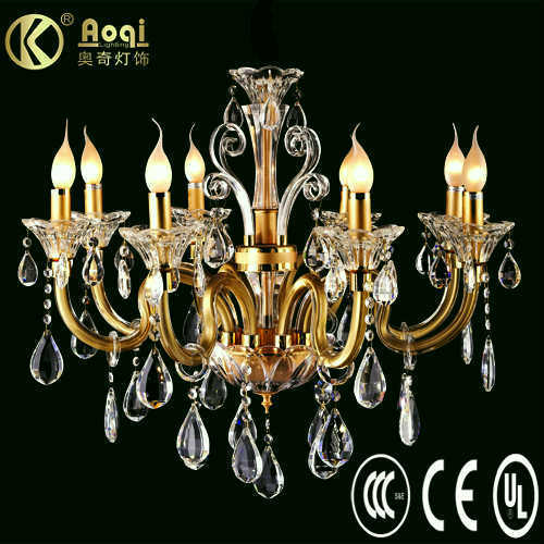 2011 Modern Design Crystal Chandelier Lamp (AQ20008-8)