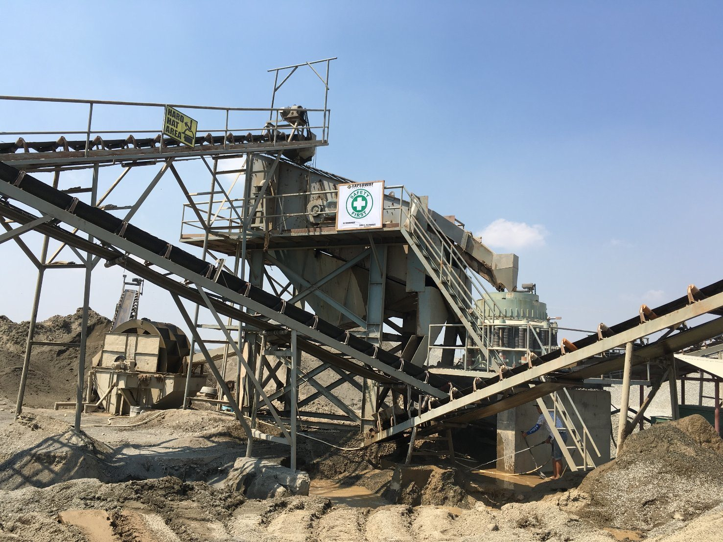 River Stone Gravel Crushing Plant and Grinding Machine for Aggregates Crush Site