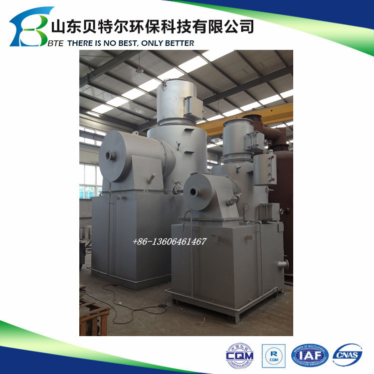 Solid Waste Incinerator/ Burner/Disposer, 1300 Celsius Degree