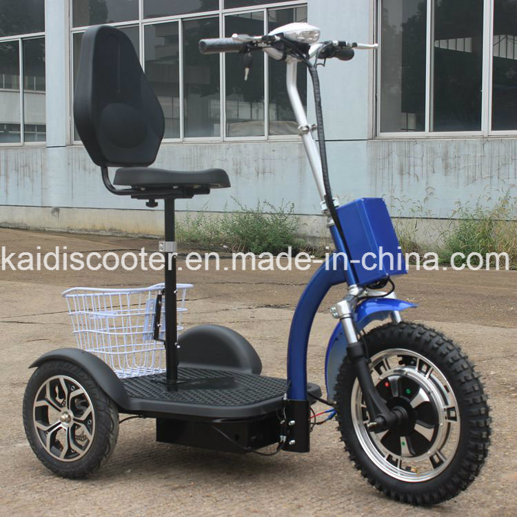 Adult 500W Foldable Three Wheels Electric Mobility Scooter with Ce