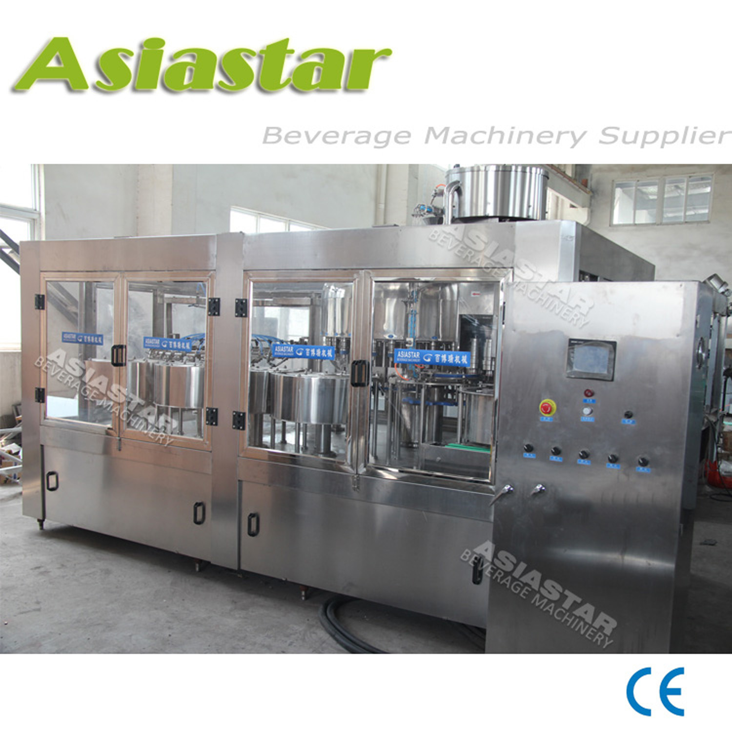 High Quality Plastic Bottle Mineral Pure Water Packing Equipment