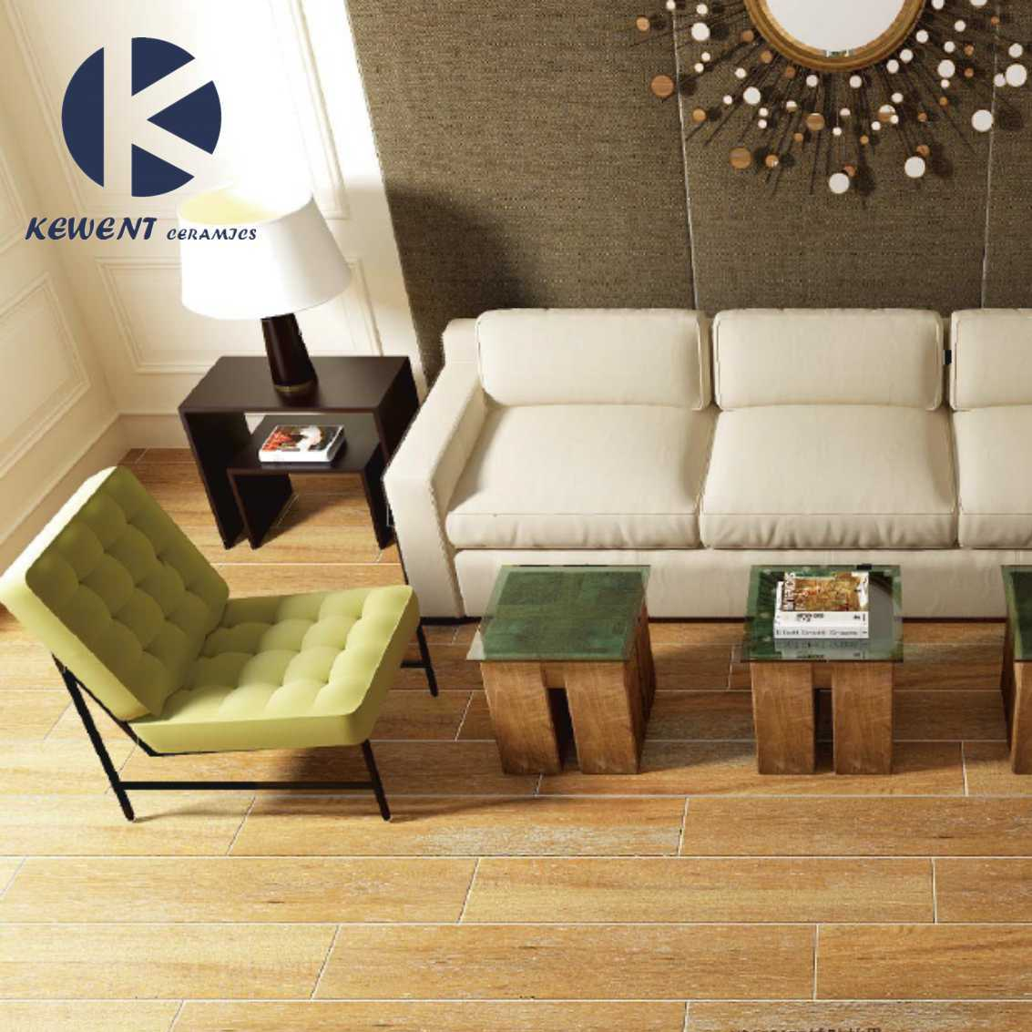Hot Sale Interior Building Material Wooden Look Ceramic Tiles for Wall and Floor