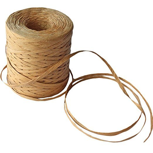 Natural Raffia String Paper Craft Ribbon Packing Paper Twine