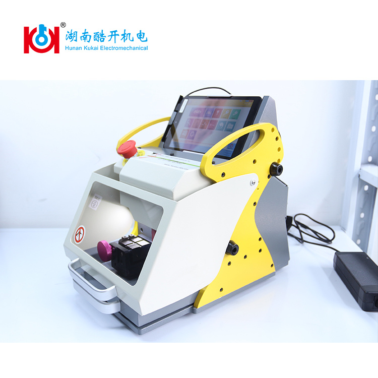 Multiple Languages Sec-E9 Key Cloning Machine for Automobile and Household Keys