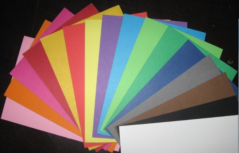 Color Board for Making Package, Wrapping Materials