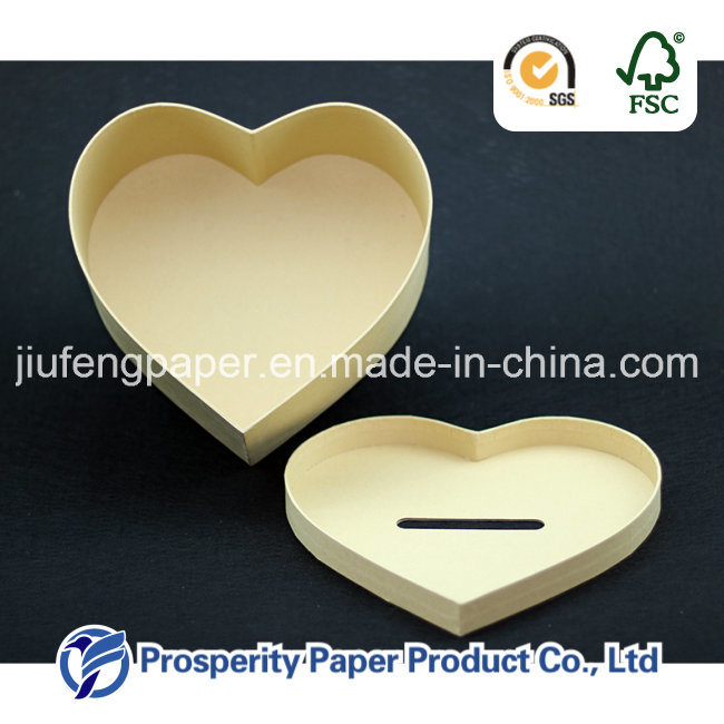 Paper Heart-Shaped Box