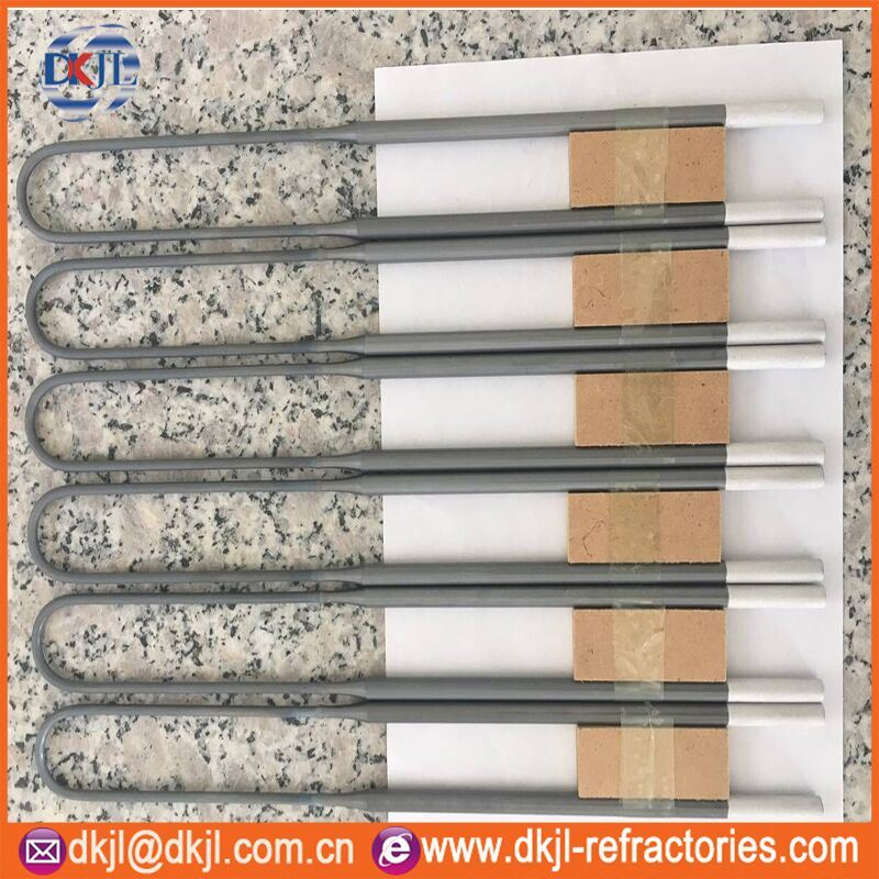 Various Specification Molybdenum Disilicide Rod Mosi2 Heating Element