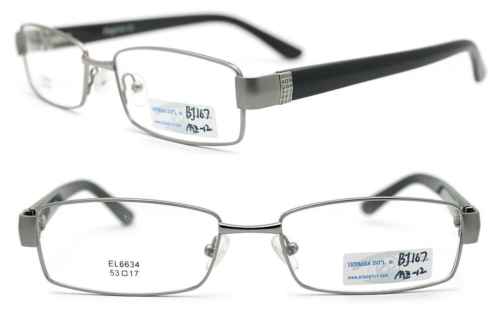 China 2012 New Design Metal Glasses Frame Spectacles Frame ...
