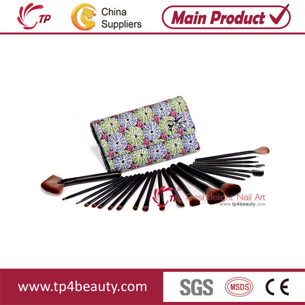 22PCS Wood Makeup Brush (TP-MB22-E)