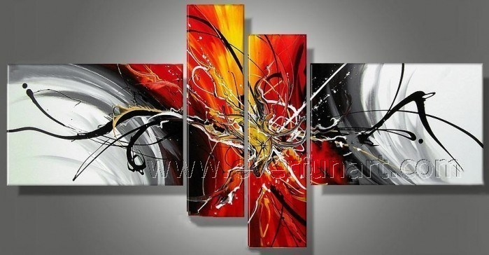 Modern Abstract Painting on Canvas (XD4-191)