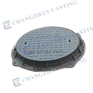 En124 Heavy Duty Manhole Covers for High Wheels D400 E600