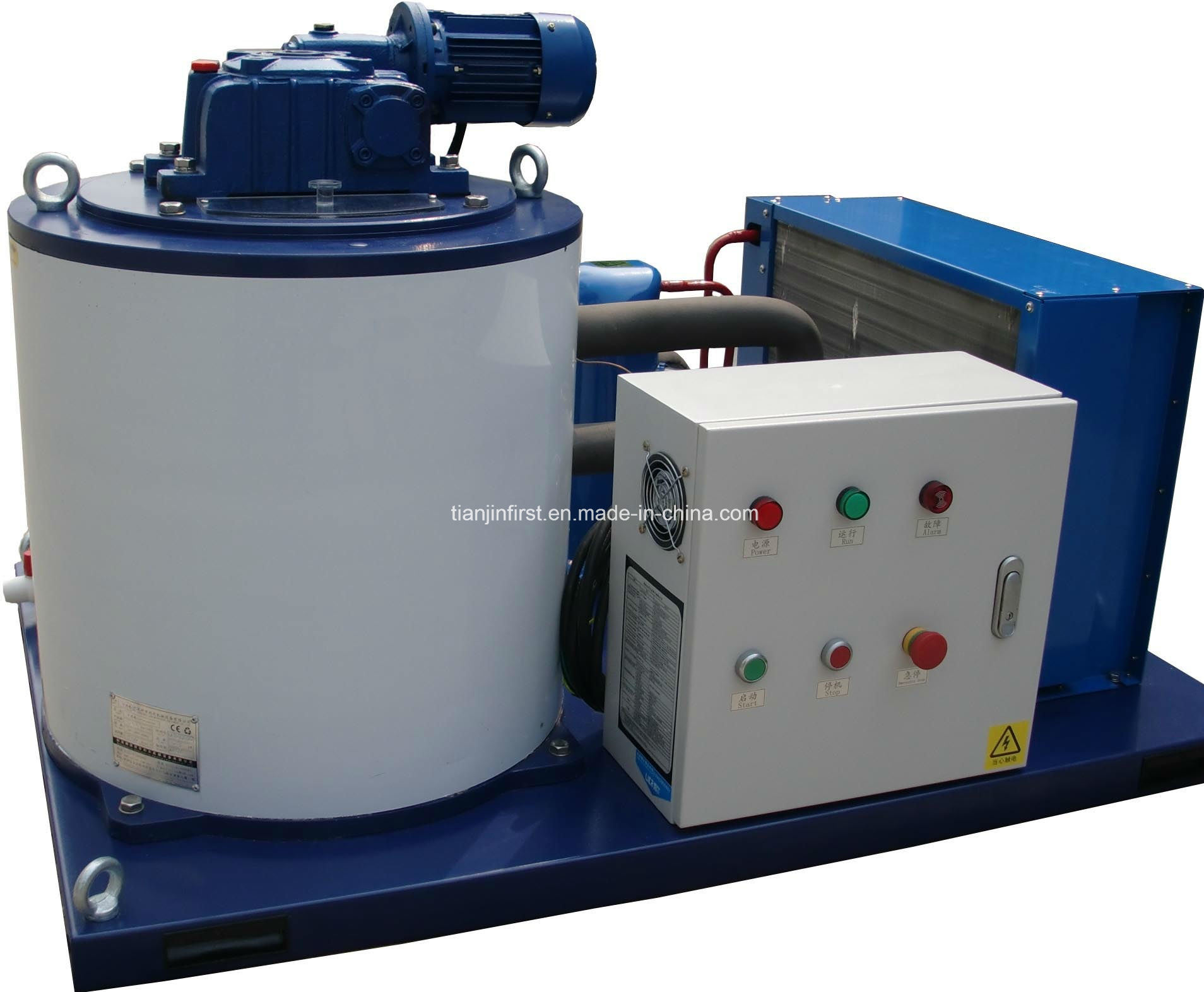 Commercial Rance Snow Flake Ice Machine 1t/24h for China