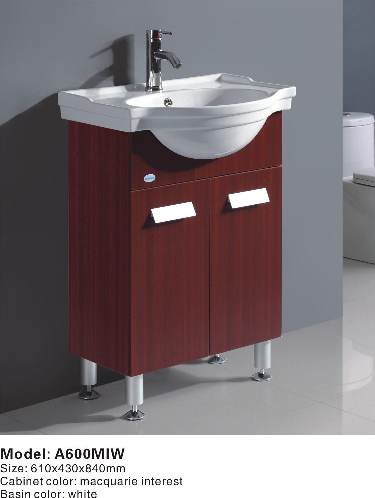 MDF Bathroom Vanity Bathroom Furniture A600MIW China Bathroom Cabinet B